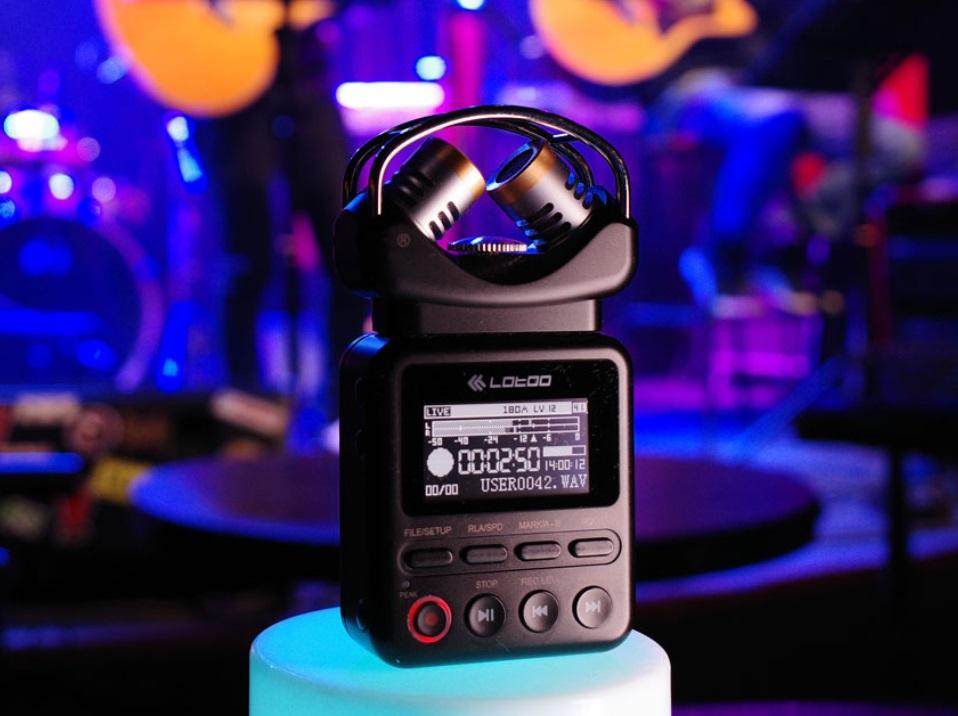 乐图发布专业录音机 PAW 1:AI 智能降噪 1999 元起,麦克风需单独选配